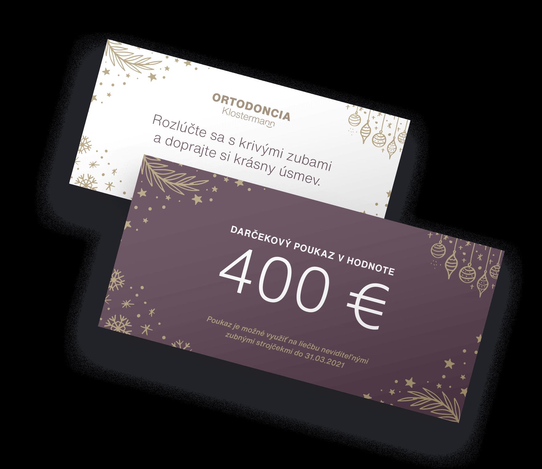 400 € discount onInvisalign